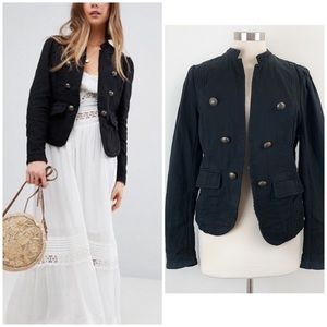 Free People | Jagger Open Front Military Blazer